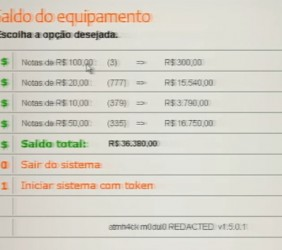 """Podmienione menu bankomatu pojawia się tylko po wpisaniu kodu <span class=""""code"""">000507607999</span> (warto więc sprawdzić przy najbliższej wizycie w bankomacie, czy rabusie nie dotarli do Polski)."""