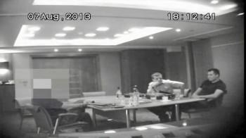 Polacy na spotkaniu w hotelu
