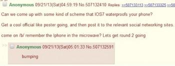 4chan wpada na pomysł trollingu użytkowników iPhone'a