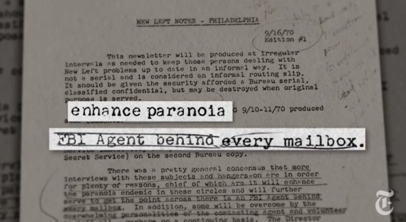 Jeden z wykradzionych FBI dokumentów