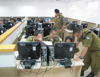 Izraelscy wojskowi na ćwiczeniach