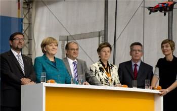 Merkel i dron