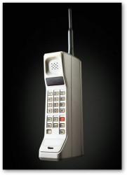 Bardzo stary telefon komórkowy