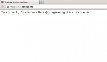 OpenSSL hacked
