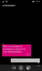 Treść SMS-a z Timoru Wschodniego