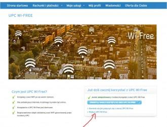 Wi-Free wyłącza się tu. fot. czytelnika Olafa