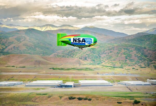 Sterowiec nad NSA