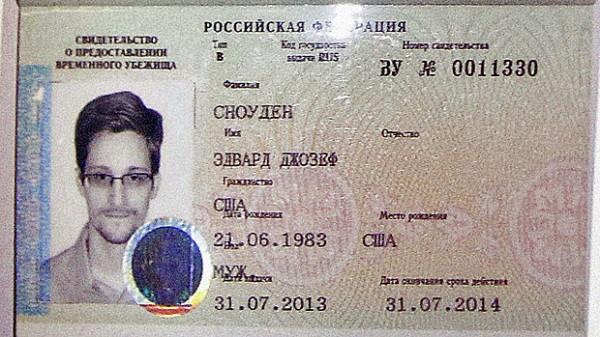 Tymczasowy paszport Edwarda Snowdena - lada chwila się kończy