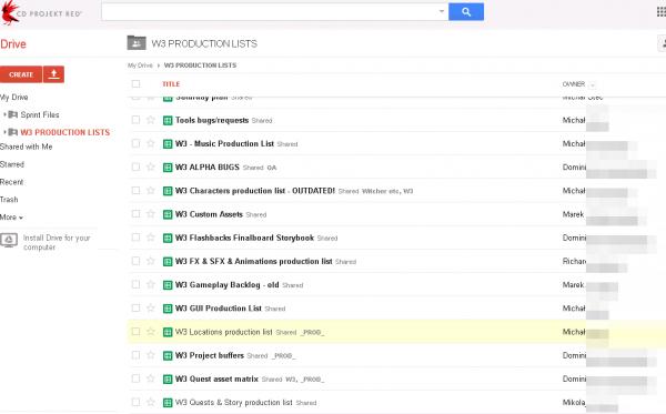 Atakujący pokazuje dostęp do konta Google jednej z pracowniczek CD Projektu, twórcy gry Witcher 3