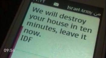 Izrael tak strzega mieszkańców okolic, które będą bombardować...