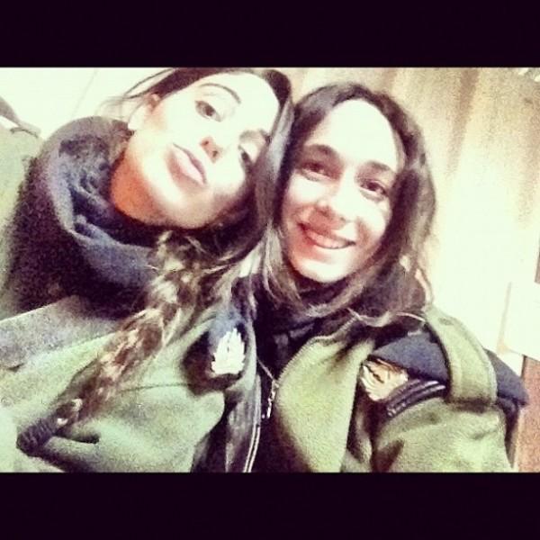 Zdjęcie izraelskich żołnierek