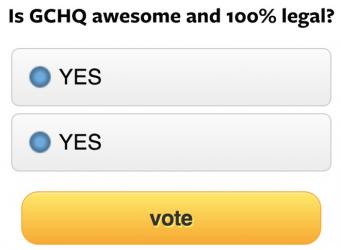Żartobliwa wizualizacja ankiet tak, jak widzą je agenci GCHQ