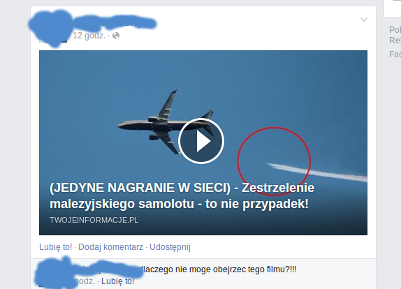 Boeing 777 MH-17 scam