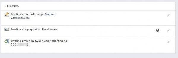 """Dane przypadkowo """"przejętego"""" użytkownika Facebooka"""