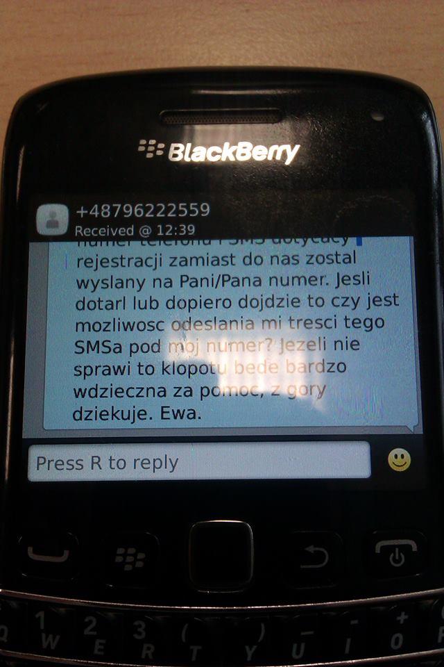 » Nowy przekręt SMS-owy? Moje dziecko wpisało zły numer