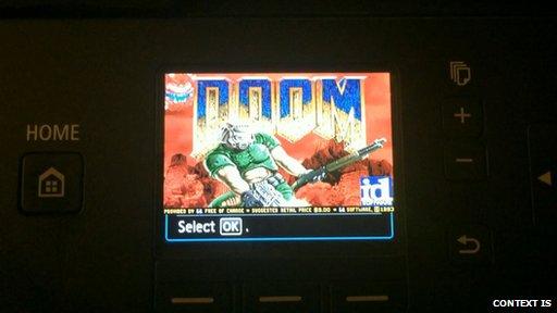 Doom na drukarce
