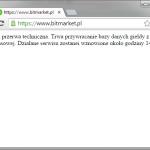 Bitmarket - przywracanie z kopii zapasowej