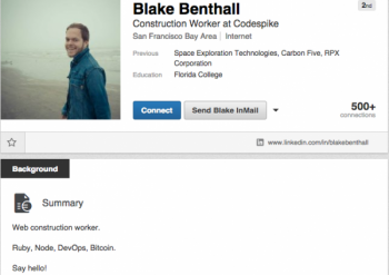 Profil LinkedIn Benthalla
