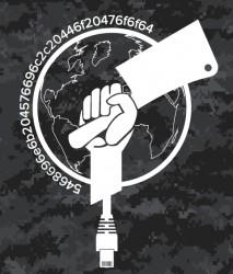 Oficjalny logotyp operacji Cleaver, but wait! jest też hashtag! :-)