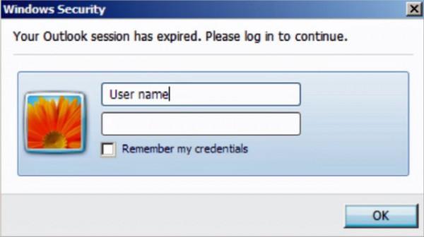 Phishing na Outlook