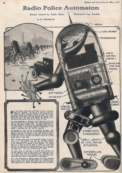 Radio Police Robot