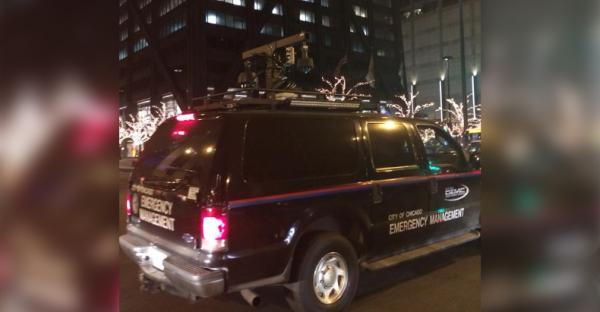 Jeden z mobilnych IMSI Catcherów, uzywany przez policję w Chicago (nazywany też stingray'em)