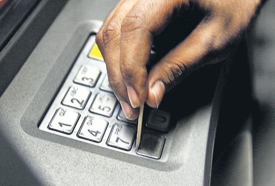 Bankomat obrobiony metodą na zapałkę