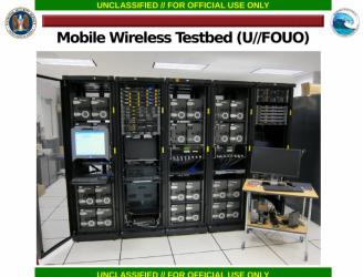Środowisko testowe jednego z projektów NSA