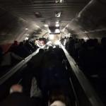 Ewakuacja Turków z metra po awarii prądu