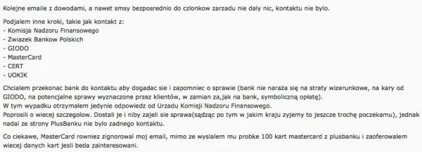 Fragment postu z forum TR z wyjaśnieniami włamywacza