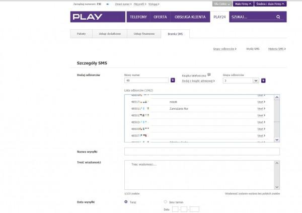Play24 - rozmowna bramka SMS zdradza opisy klientów