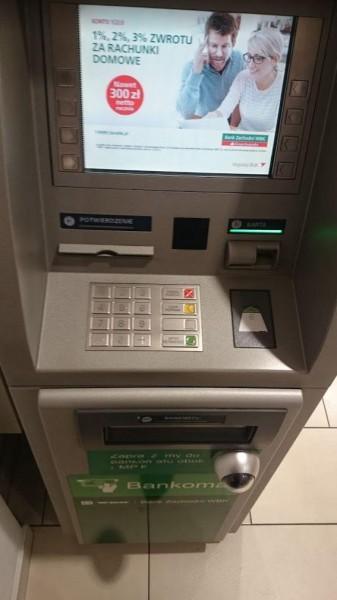 Bankomat podglądacz