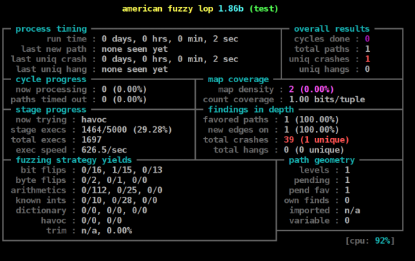 American_fuzzy_lop's_afl-fuzz_running_on_a_test_program