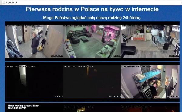 Kamery w domu rodziny Dzikowskich