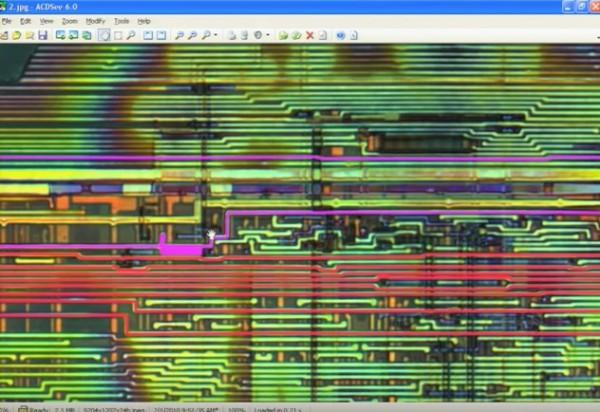 Analiza procesora przez Tarnovsky'ego