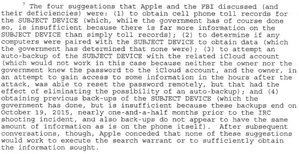 4 metody na pozyskanie danych, które sugerowało Apple