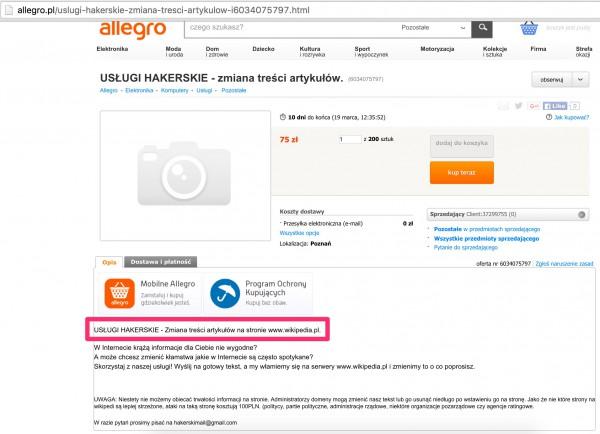 USŁUGI_HAKERSKIE_-_zmiana_treści_artykułów___6034075797__-_Allegro_pl_-_Więcej_niż_aukcje_
