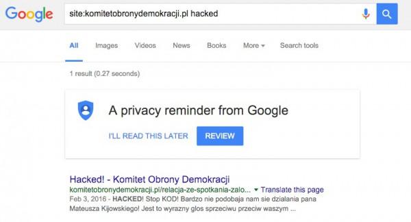 site_komitetobronydemokracji_pl_hacked_-_Google_Search