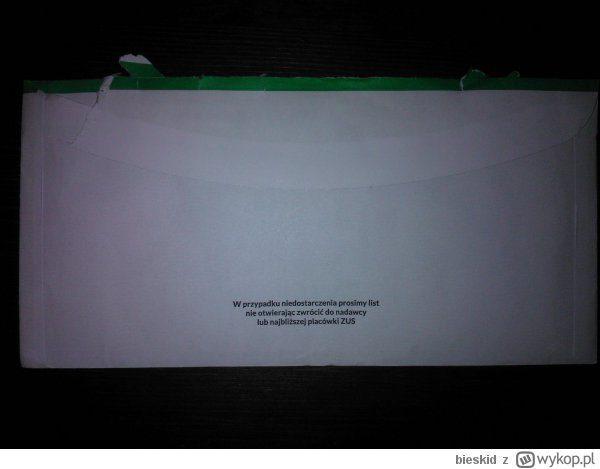 List od ZUS-u ostrzega, nie otwieraj, jeśli to nie jest adresowane do Ciebie