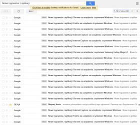 """E-maile, kierowane do """"dupadupa"""""""