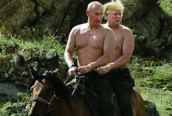 Internauci szybko zauważyli niepokojąco bliskie stosunku Trumpa z Putinem