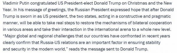 Oświadczenie Putina w sprawie sankcji