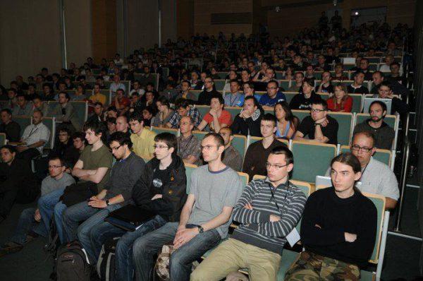 Niebezpiecznikowy wykład w 2008 roku na Infoshare w Gdańsku
