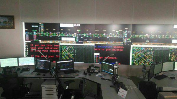 Rosyjskie koleje - pokój operatorów