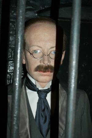 Figura woskowa dr. Crippena w Muzeum Madame Tussauds