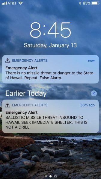 Tak wyglądało odwołanie alarmu