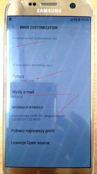 Zdjęcie telefonu wykonane przez Czytelnika