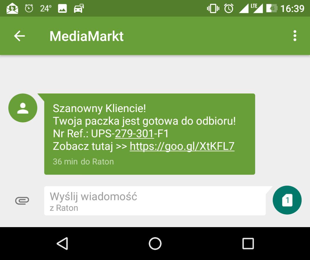 084b89605bb47d Uwaga na SMS-y od MediaMarkt. Wcale nie wysłali Ci iPhona X ...