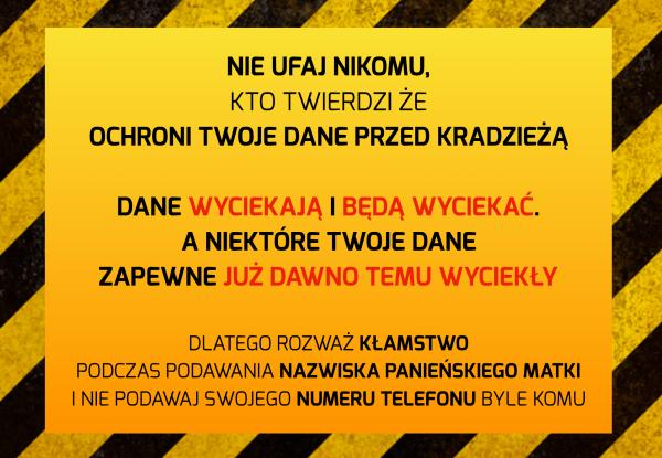 0711642aef0d2e Dlaczego ochrona swojego numeru telefonu jest dość istotna? Bo niestety w  Polsce ten numer traktowany jest czasem jako element potwierdzenia  tożsamości lub ...